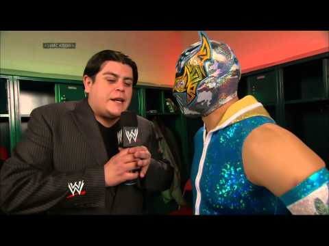 Ricardo Interviews Sin Cara video
