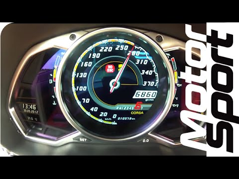 0-285 km/h : Lamborghini LP700-4 Aventador (Motorsport)