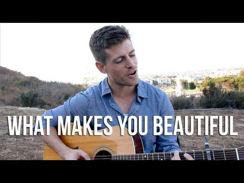 What Makes You Beautiful - One Direction Acoustic Cover By Tj Smith video
