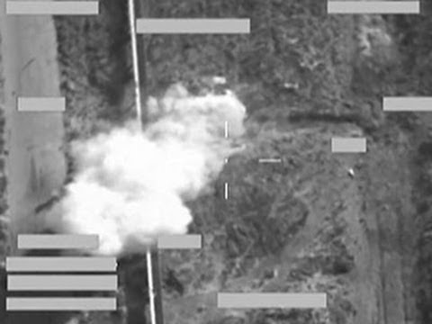 Raw: British Carry Out First Airstrike in Iraq