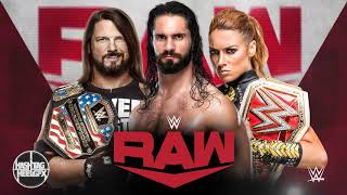 "2019: WWE Monday Night Raw 15th & New Official Theme Song - ""Legendary"" ᴴᴰ"