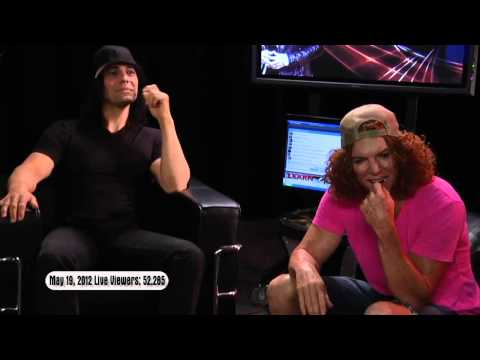 #LIVEwire 5/19/12 - Guest Carrot Top