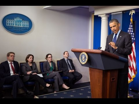 President Obama Speaks on Bombings in Boston