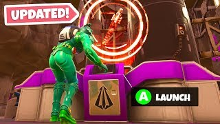 How to LAUNCH the ROCKET in Fortnite...