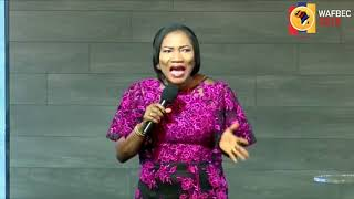 REV. MRS FUNKE FELIX ADEJUMO TEACHING - WAFBEC 2018