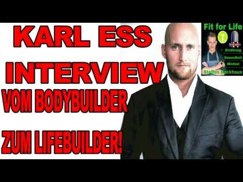 KARL ESS - Designe dir dein Traumleben❗Vom Bodybuilder zum Lifebuilder❗Ernährung✅Gesundheit✅ 1|2