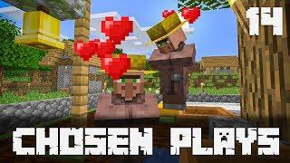 Chosen Plays Minecraft 1.14 Ep. 14 Villager Breeder