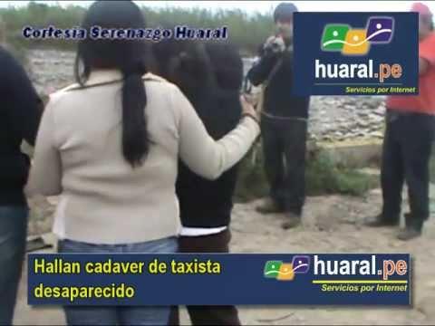 Encuentran cadaver de  taxista Oscar Yauli Zárate