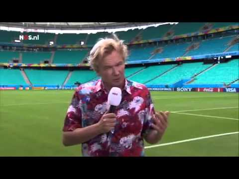 Tom Egbers over Spanje Nederland   NOS WK Voetbal nederland spanje