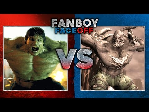 Hulk vs Doomsday: Fanboy Faceoff