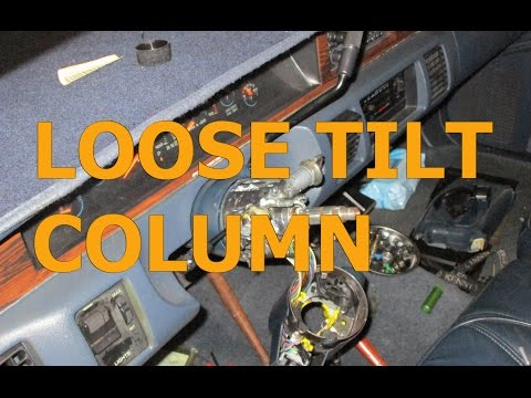 Loose tilt GM column repair 1991- 1996 Caprice Impala SS Roadmaster