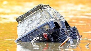 Funny Video UpHill Muddy Challenge — Stuck In MUD — RC Cars Wash — Wilimovich