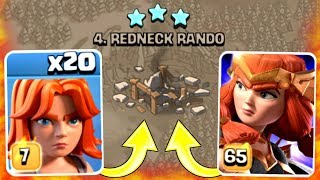 NEW VALKYRIE QUEEN ARMY IS UNSTOPPABLE!! - Clash Of Clans