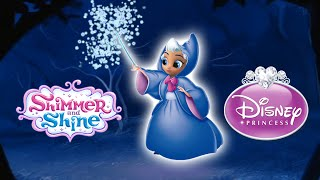 Shimmer and Shine Color Disney Episode Cinderella Fairy Godmother NEW EPISODE | Princess Samira
