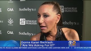 Donna Karan Fugly Wicked Witch of West Kike-ess Who Supports Potted Plant Jerk Offer Jew