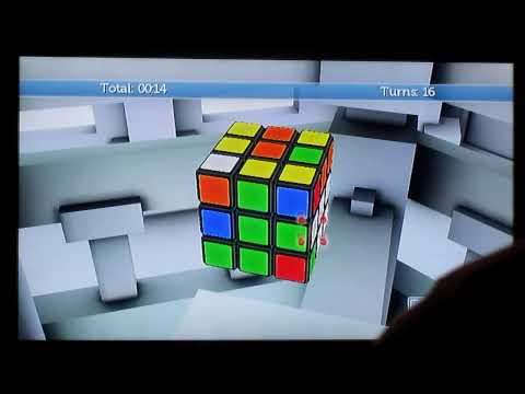 Rubik s World for Wii solve in 53s