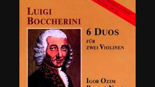 Boccherini: 6 Violin Duos op 5 no 1 - 6