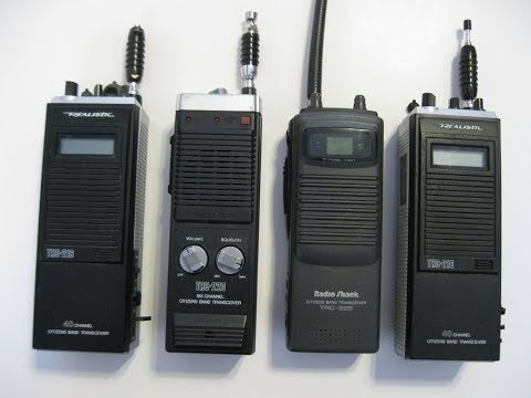Handheld CB Radios. What To Look For. and What They Can Do.