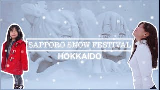 Sapporo Snow Festival (Yuki Matsuri) HOKKAIDO VLOG -Part II | WINTER IN HOKKAIDO 🇯🇵 ONLY in JAPAN