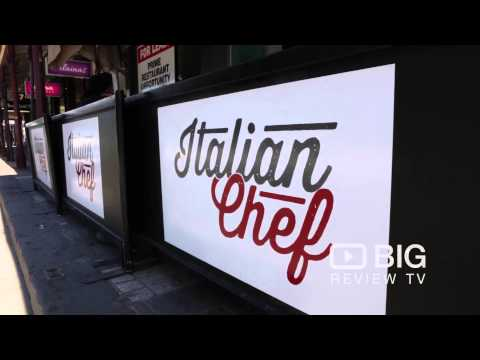 BIG REVIEW TV reviews Italian Chef on Chapel Street.