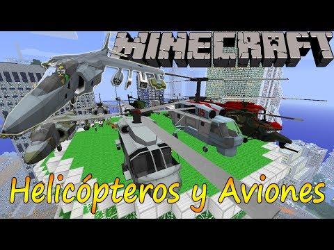 Minecraft 1.6.4 - Mod Helicópteros y Aviones / Español