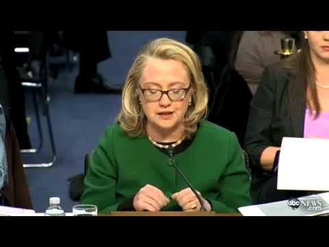 Hillary Clinton Gets Choked Up at Benghazi Consulate Attack Hearin