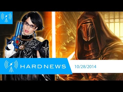 Bayonetta In Playboy, X-wing Comes To Gog, No More Sexy Streaming | Hard News 10 28 14 video