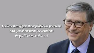 10 Inspirational Quotes of Bill Gates|Move On