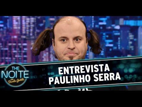 The Noite (28/08/14) - Entrevista Paulinho Serra