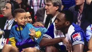 Stephen Curry & Dell Curry Mix | Like Father, Like Son | HD