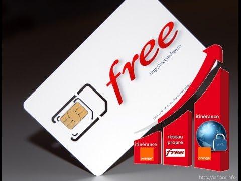 Comparatif Free Mobile en itinerance et sur son reseau propre.