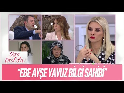 Ebe Ayşe Yavuz evlatlık verilen çocuklar hakkında bilgi sahibi - Esra Erol'da 11 Aralık 2017