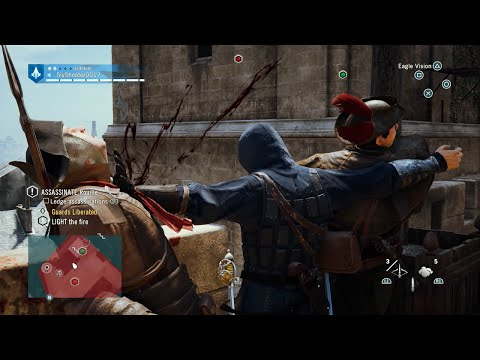 Sly Gameplay - Assassin's Creed Unity Brutal Swordfights/Moments Compilation Vol.1