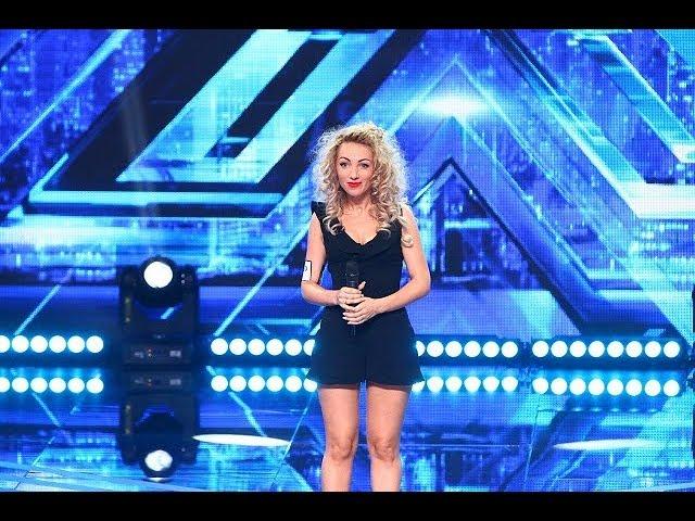 Vezi interpretarea Paulei Nicorescu Ghiviriga, la X Factor!