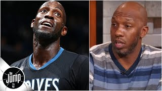 Chauncey Billups explains how he helped convince Kevin Garnett to leave Timberwolves   The Jump