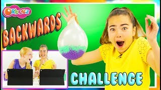 Backwards WORD and ACTION Challenge! Guess The Words! | Official Orbeez