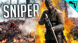 Battlefield 1 Sniper Gameplay - Which is the Best?