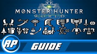 Monster Hunter World - Master Weapon Progression Guide (Obsolete by patch 12.01)