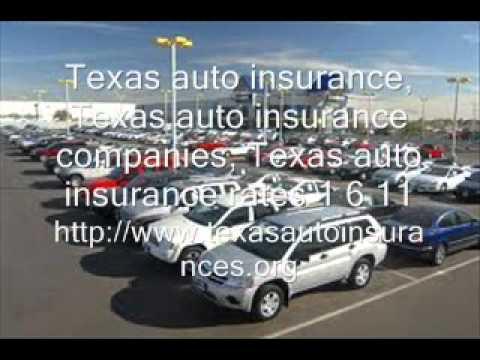 Texas auto insurance, Texas auto insurance companies, 1 6 11.wmv