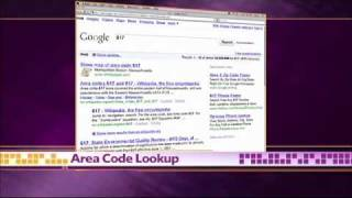Google Tips -- Sports Scores, Movie Showtimes, Area Code Loo