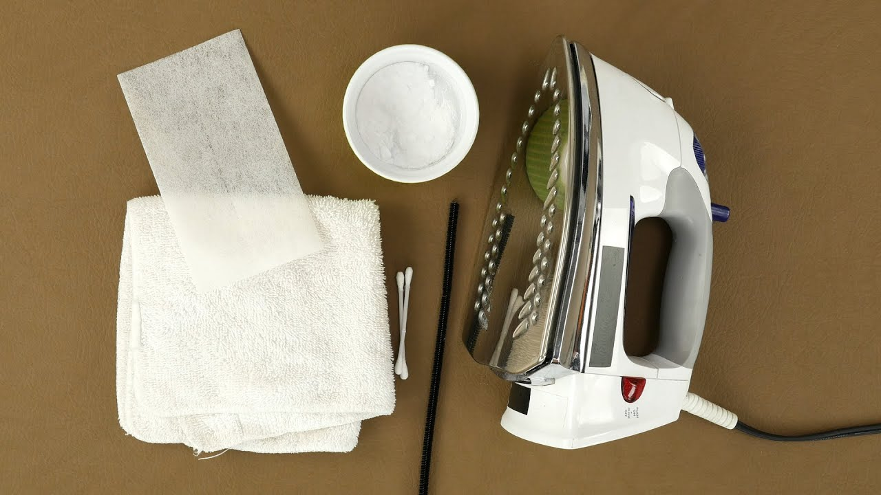 Как чистят утюг в домашних условиях