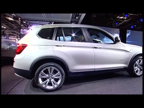 World premiere of the new BMW X3