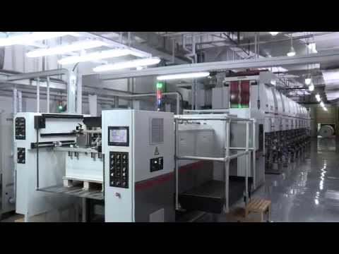 BOBST LEMANIC DELTA Gravure printing press