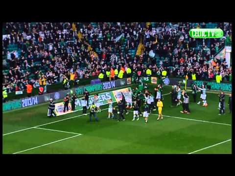 Celtic FC - Champions' Lap of honour