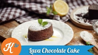 Resep Chocolate Lava Cake (Chocolate Molten Cake Recipe Video) | NINA CHRESTELA