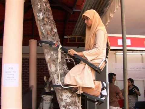 Yuva Master Mind Project - Coconut Tree Climbing Machine ...