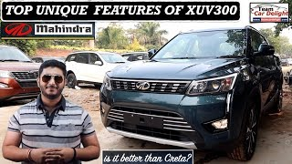 Top Unique Features of XUV 300 | Best Features of XUV300 | XUV300 vs Nexon vs Brezza vs Ecosport