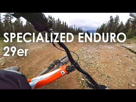29er at the Whistler Bike Park?! What's it like? Specialized Enduro 29er Demo Ride!