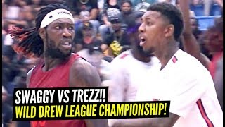 Nick Young vs Montrezl Harrell CRAZY DREW LEAGUE Semi-Finals!! WILD WILD ENDING!