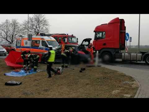 Wypadek W Brudzyniu Gm  Brudzew